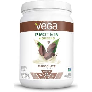 Vega Protein and Greens Plant-Based Protein Powder for $14 via Sub & Save