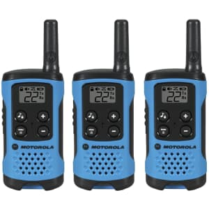 Motorola Talkabout Radio 3-Pack for $34