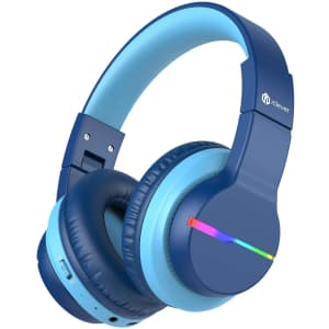 iClever Kids' Bluetooth Headphones w/ LED Lights for $26