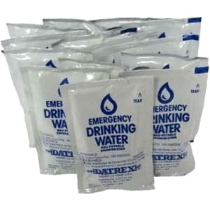 Datrex Emergency Drinking Water 18-Pack for $14