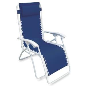 Destination Summer Zero Gravity Chair for $34