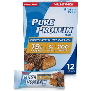 Pure Protein Bars 12-Pack for $8.60 via Sub & Save
