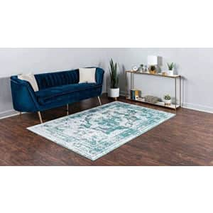 Unique Loom Sofia Collection Area Traditional Vintage Rug, French Inspired Perfect for All Home for $183