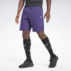 Reebok Men's United by Fitness Epic+ Shorts for $23