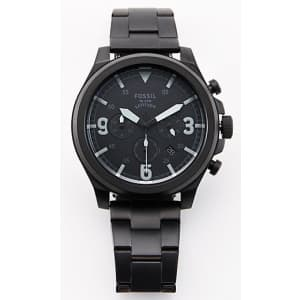 Fossil Men's Latitude Chronograph Personalized Watch for $36