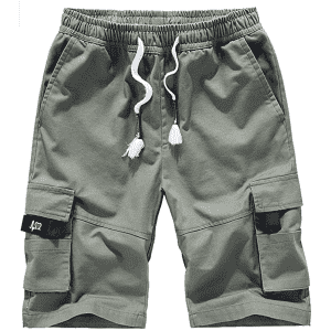 XinYangNi Men's Cargo Shorts for $12