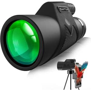 Simitten 12X42 Monocular Telescope for $11