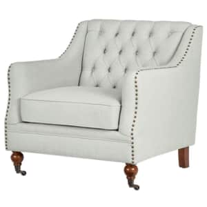 Home Decorators Collection Kennison Accent Chair w/ Down-Wrapped Cushion for $315
