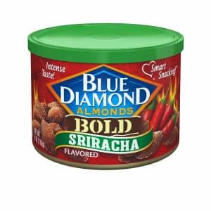 Blue Diamond 6-oz. Bold Sriracha Almonds for $3