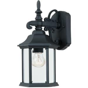 Designers Fountain Devonshire Wall Lantern for $31