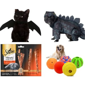 Amazon Treat Your Pet Event: Save on treats, costumes & toys