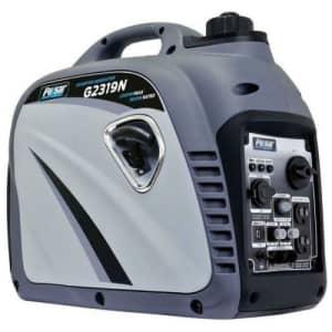 Pulsar 2,300W Portable Gasoline Inverter Generator for $364