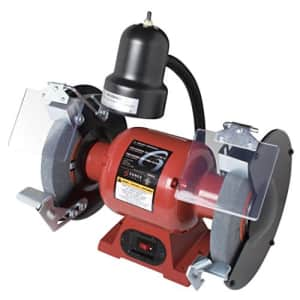 Sunex 5002A Bench Grinder with Light, 8-Inch for $228