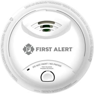 First Alert 10-Year Ionization Sensor Smoke Alarm for $17