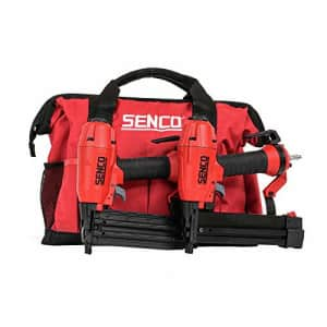 SENCO 11C0001N FinishPro 18 Gauge 2 in. Brad Nailer and 1/4 in. Crown Finish Stapler Combo Kit for $120