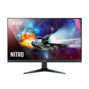 Acer Nitro VG271 Pbmiipx 27 Inches Full HD (1920 x 1080) IPS Monitor with AMD Radeon FREESYNC for $230