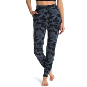 90 Degree by Reflex Women's Missy Hacci Knit Joggers for $11