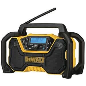 DEWALT 12V/20V MAX Portable Radio, Bluetooth, Cordless, Jobsite, Tool Only (DCR028B) for $170