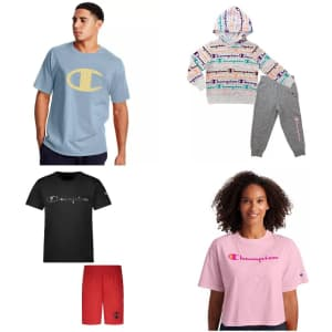 Champion at Kohl's: up to 25% off + Kohl's Cash