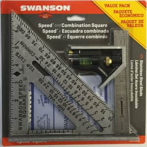 """Swanson Tool 6"""" Speed Square Layout Tool for $15"""