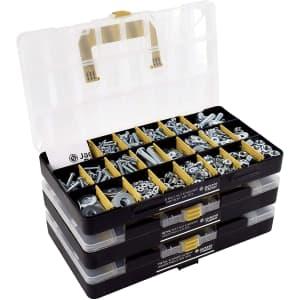 Jackson Palmer 1,700-Piece Hardware Assortment Kit for $39