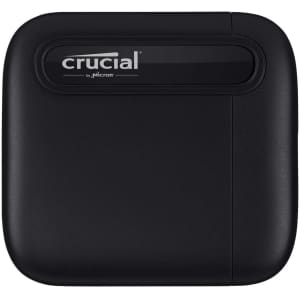 Crucial X6 1TB Portable SSD for $110