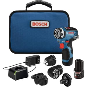 Bosch 12V Max. Brushless Flexiclick 5-In-1 Drill/Driver System for $199