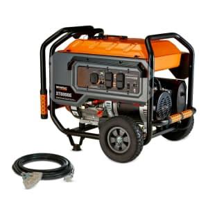Generac XT8000E 8,000W Electric Start Portable Generator for $899