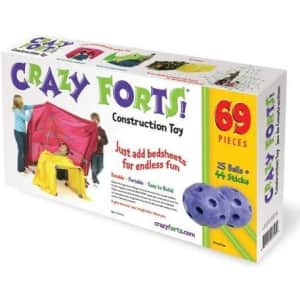 Crazy Forts! 69-Piece Play Fort Playset for $38