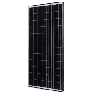 Renogy 100W 12V Monocrystalline Black Solar Panel for $99