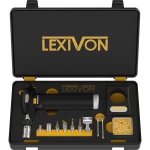 Lexivon Butane Torch Multi-Function Kit for $40