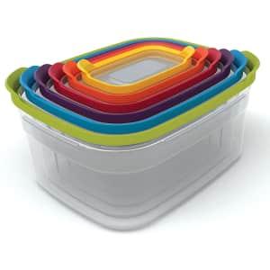 Joseph Joseph 12-Piece Nest Plastic Food Storage Containers Set for $28