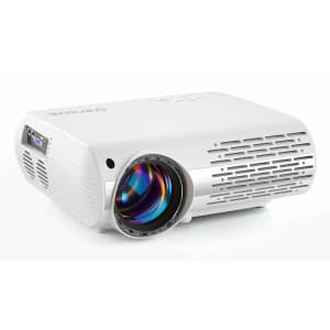 Crenova LED LCD Video Projector for $85
