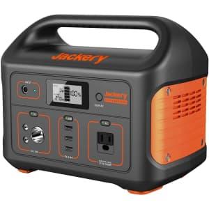 Jackery Portable Explorer 500 Power Station Generator for $500