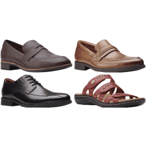 Clarks at Shoes.com: Up to 65% off