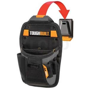 ToughBuilt - Universal Pouch/Utility Knife Pocket   8 Pockets/Loops, Custom Tape Measure Clip, for $14