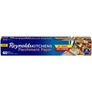 Reynolds Kitchens 60-Sq. Ft. Parchment Paper for $4.84 via Sub & Save