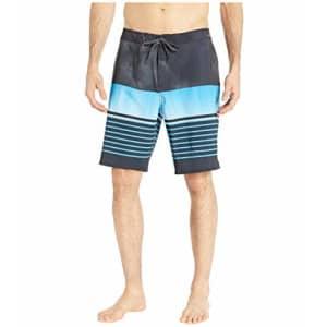 Quiksilver Men's Highline SWELL Vision 20 Boardshort Swim Trunk, Black, 40 for $49