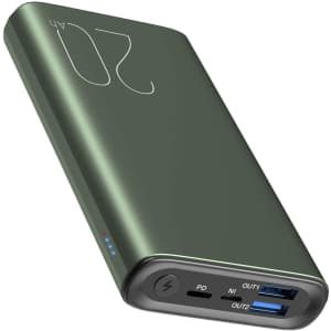 Tozo 20,000mAh Portable Charger for $30