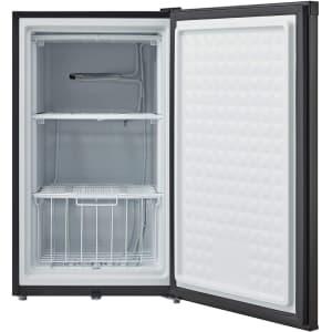 Midea 3-cu. ft. Upright Freezer w/ Door Lock for $206