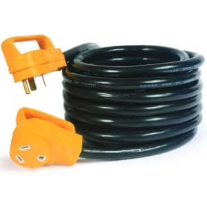 Camco 25-Foot PowerGrip Electrical Power Cord for $42