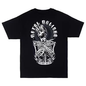 Metal Mulisha Men's Remains T-Shirt, Black, Large for $24