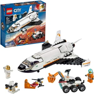 LEGO City Space Mars Research Shuttle Building Set for $32