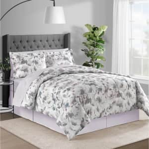 Fairfield Square Collection Sophia 8-Piece Reversible Comforter Set for $30