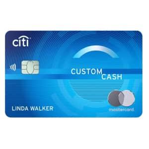 Citi Custom Cash℠ Card at Credit-Land: Earn $200 cash back