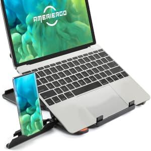 Ameriergo Adjustable Laptop Stand for $7