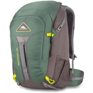 High Sierra Pathway 40L Hiking Backpack for $36
