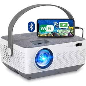Fangor 1080p HD Bluetooth Projector w/ Sync Smartphone Screen for $149