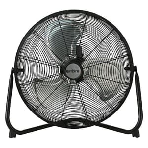 Hurricane HGC736476 Floor Fan 20 Inch, Pro Series, High Velocity, Adjustable Tilt, Heavy Duty For for $72