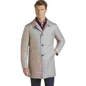 Jos. A. Bank Men's Travel Tech Trench Coat for $30